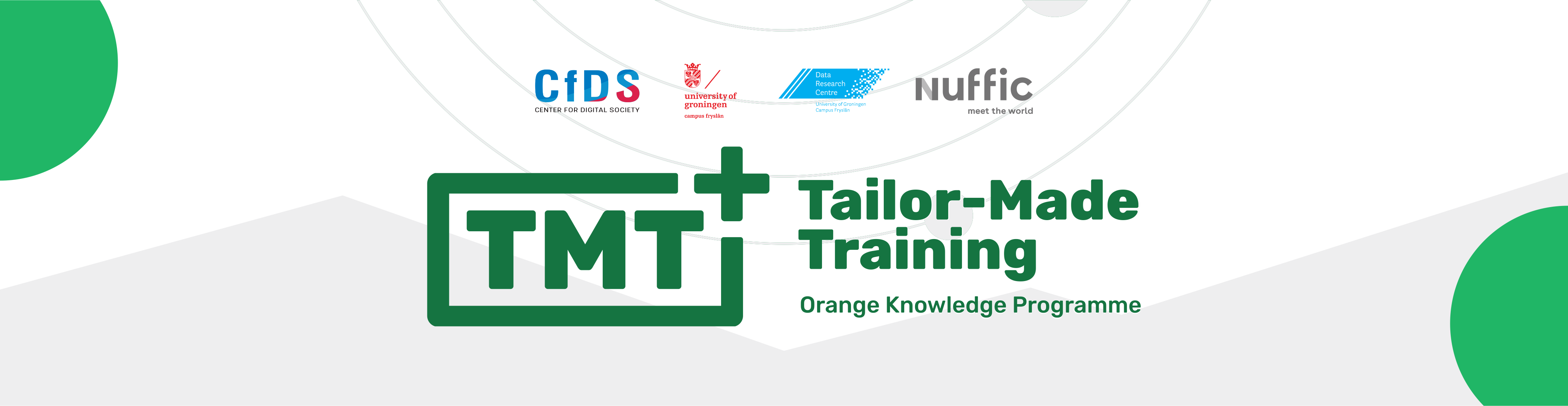 [Siaran Pers] Reflection Session 1 Tailor-Made Training+ (TMT+) Orange Knowledge Programme by CfDS UGM & Data Research Centre (DRC) University of Groningen/Campus Fryslân