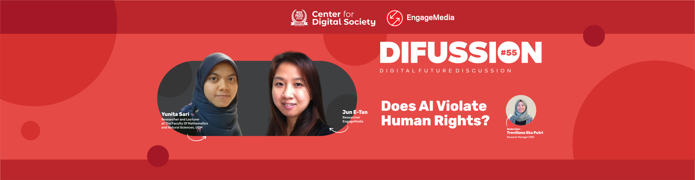 [SIARAN PERS] Apakah AI Melanggar Hak Asasi Manusia? | Difussion #56