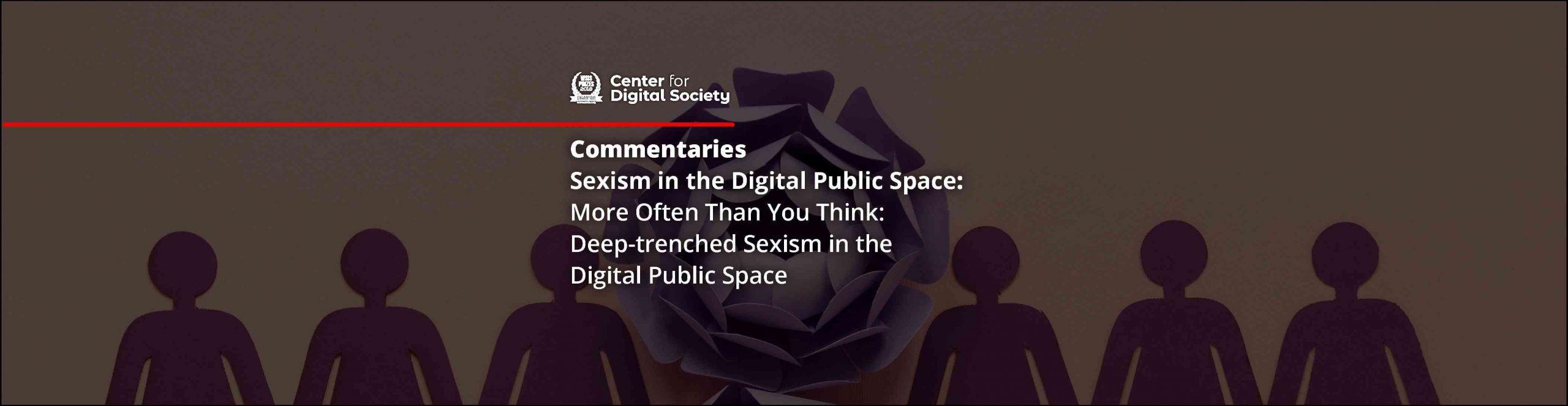 More Often Than You Think: Seksisme Mendalam di dalam Ruang Publik Digital